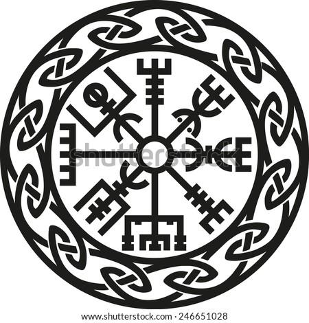 vegvisir  icelandic compass