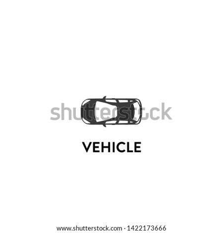 vehicle icon vector. vehicle vector graphic illustration