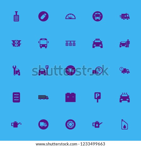 vehicle icon. vehicle vector icons set taxi cab, pedal, parking sign and fast delivery truck