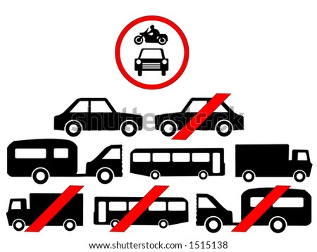 Vehicle Symbols Stock Vector 1515138 : Shutterstock