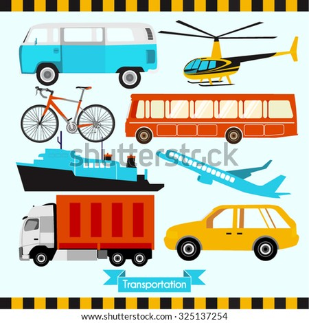 vehicles vector design
