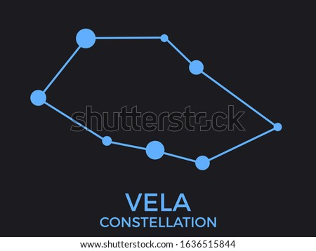 vela constellation stars in