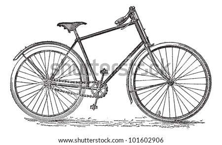 velocipede bicycle  vintage...
