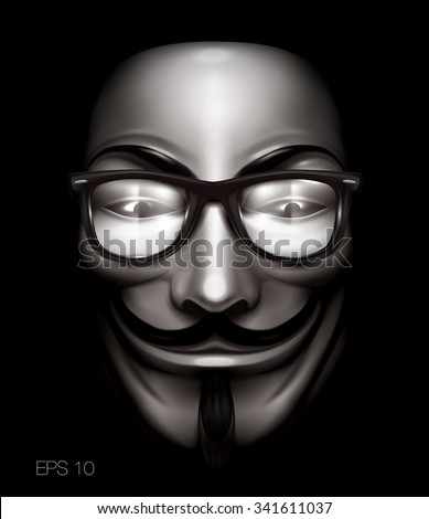 vendetta or anonymous mask with