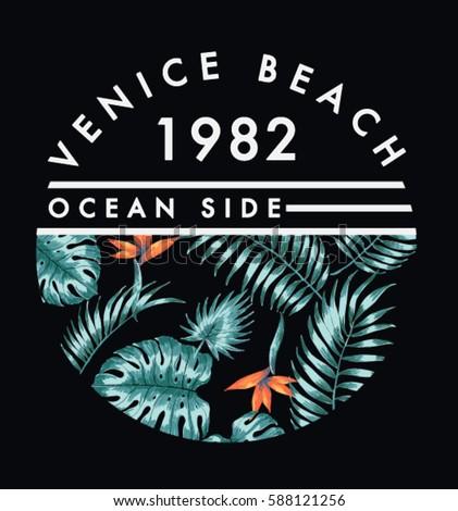 venice beach illustration  for...