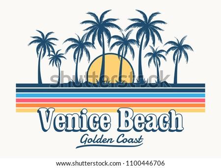 venice beach theme vintage