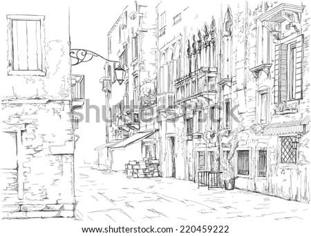 venice   calle fondamenta megio