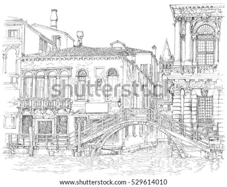 venice   grand canal ancient