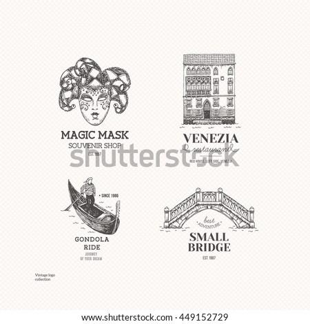 venice logo illustration....