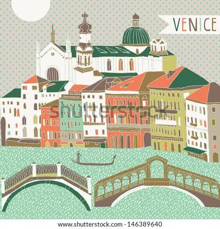 venice print design