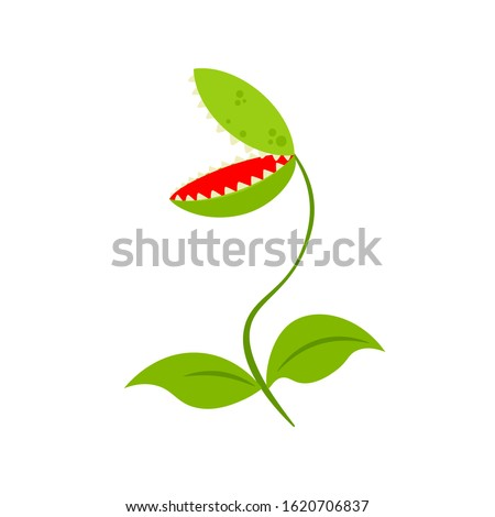 venus fly trap clipart image