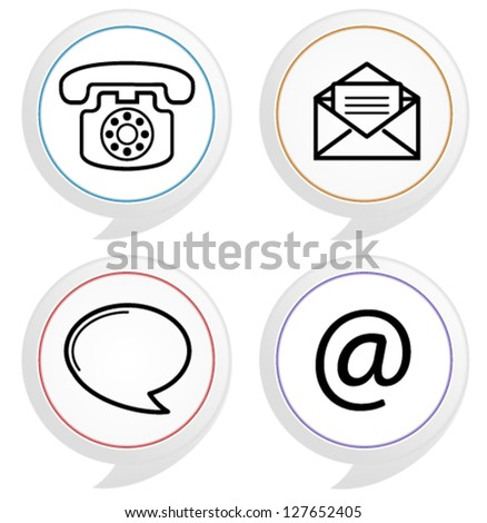 Contact Support Icon Support / Contact Icons