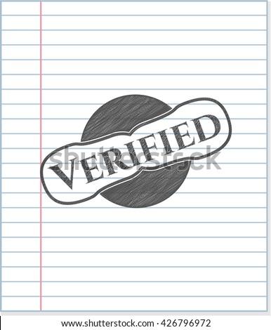 Verified penciled