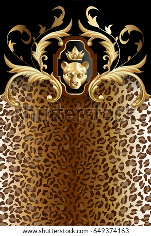 vertical animal background with