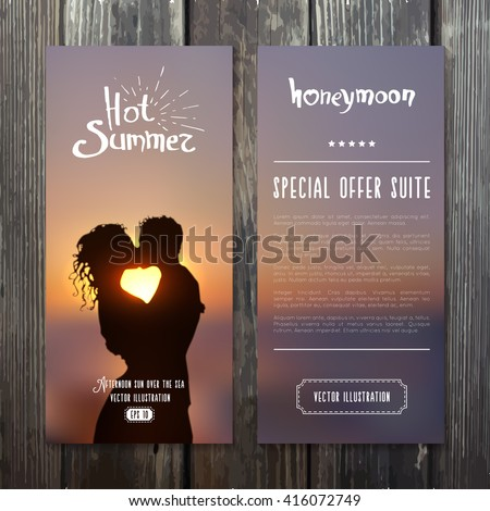 vertical banners template with