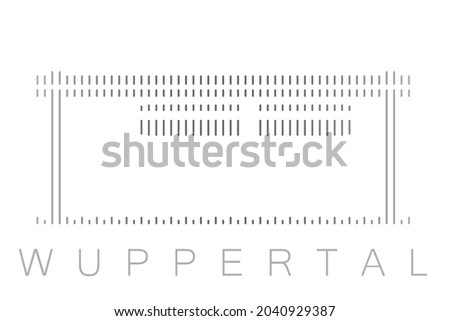 vertical bars wuppertal