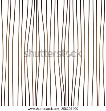 vertical curves brown stripes