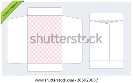 Vertical Envelope Template