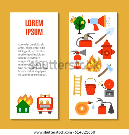 vertical flyer template with