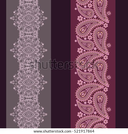 vertical seamless pattern with