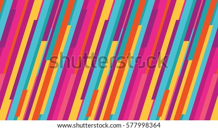 vertical strips colorful