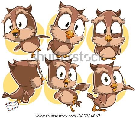 cartoon owl vector download free vector art stock graphics images