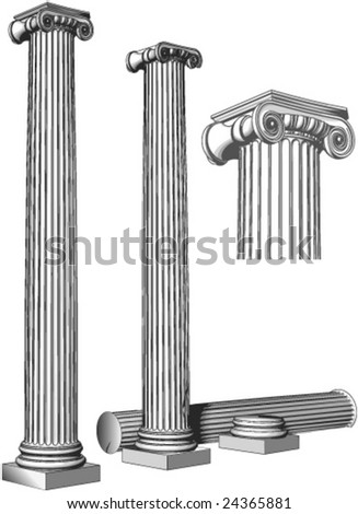 Very ancient pillars