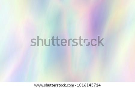 Very beautiful rainbow texture. Holographic Foil. Wonderful magic background. Fantasy colorful card. Iridescent art. Trendy punchy pastel