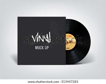 Very realistic vinyl mock up. Place your design on this beautiful vinyl !