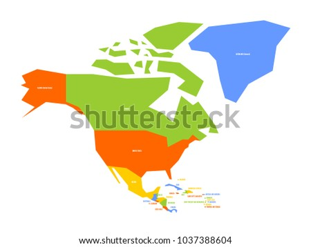 north america map vector download free vector art stock graphics rh vecteezy com north america vector map with states and provinces north america vector map download