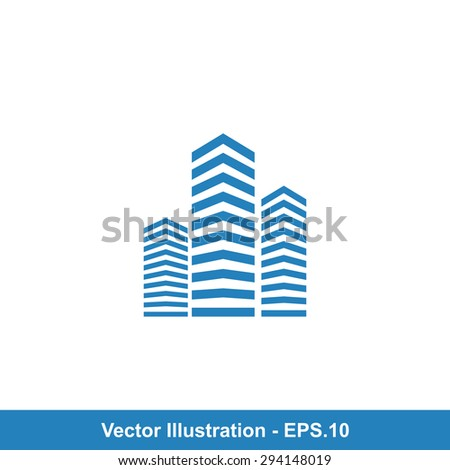 Very Useful Icon Of Building. Eps-10.