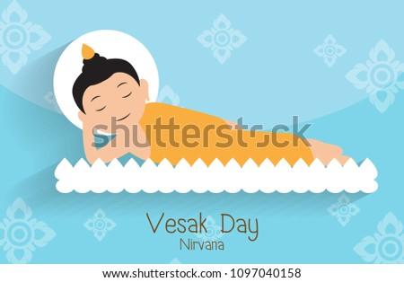 vesak daybuddha nirvana on the