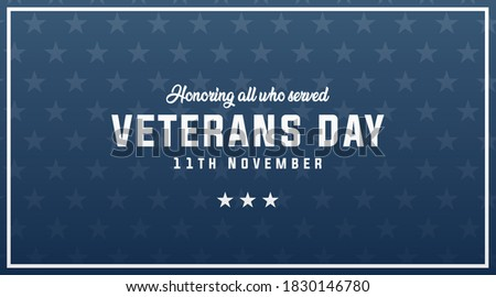 veterans day honoring all who
