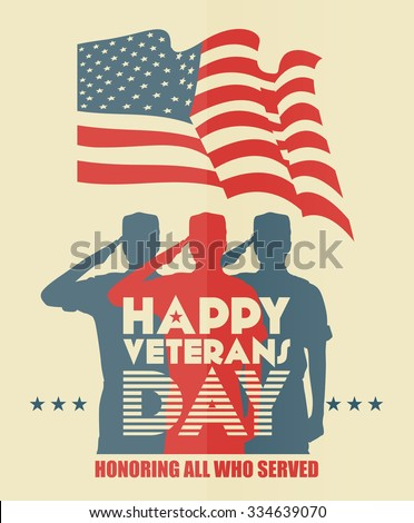 veterans day poster us