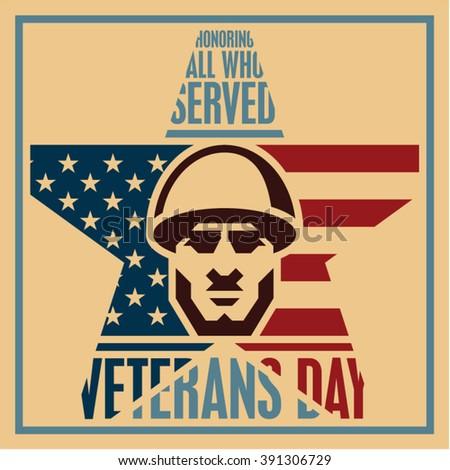veterans day poster. veterans...
