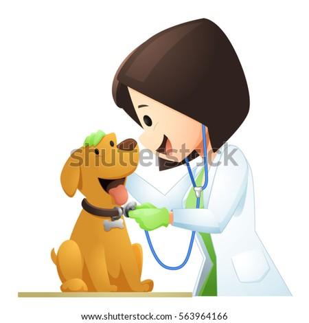 veterinary cartoon set 1