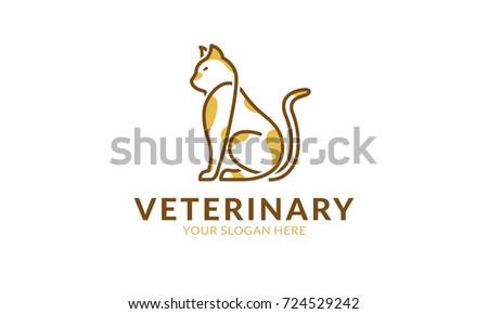 Stock Photo Veterinary Logo