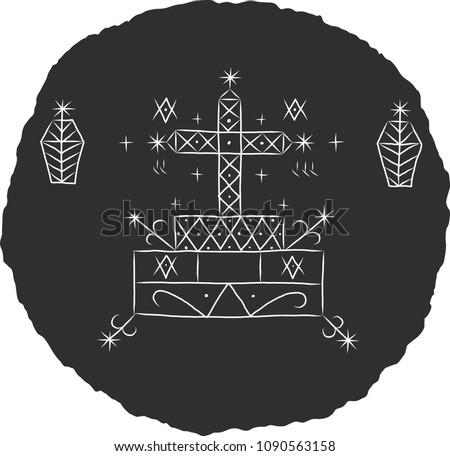Voodoo Symbol Of Ogoun Download Free Vector Art Stock Graphics