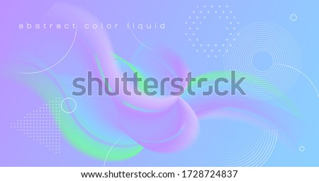 Vibrant Background. Pastel Digital Banner. Liquid Geometric Concept. Flow Abstract Motion. Wave 3d Vibrant Background. Dynamic Wallpaper. Vector Bright Creative Poster. Vibrant Background.