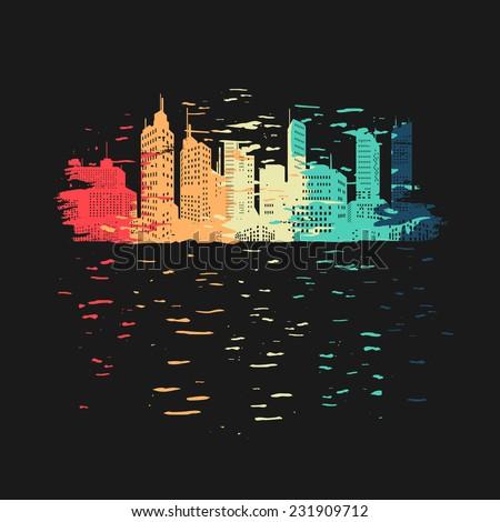 vibrant city symbol