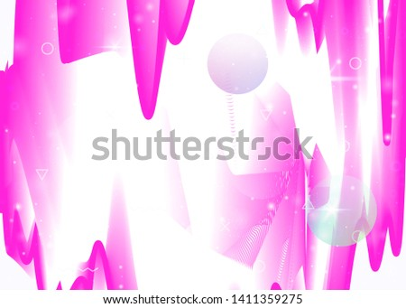 Vibrant gradients on rainbow background. Holographic dynamic fluid. Cosmos hologram. Graphic template for banner, cover and brochure. Fluorescent vibrant gradients.