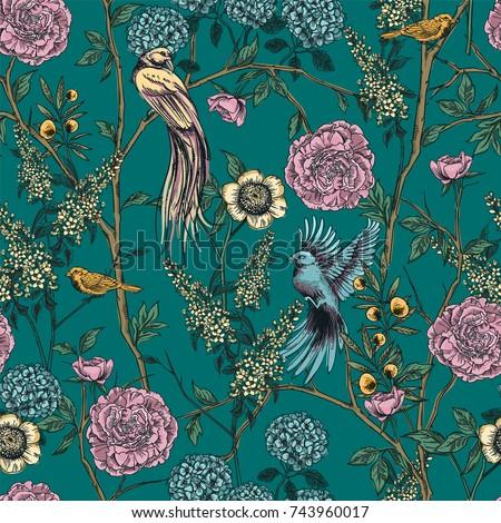 victorian garden floral