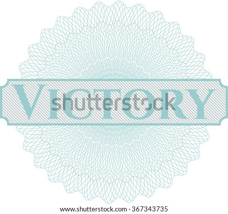 Victory linear rosette