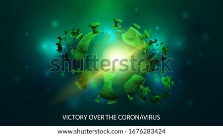 victory over the coronavirus
