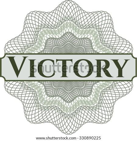 Victory rosette