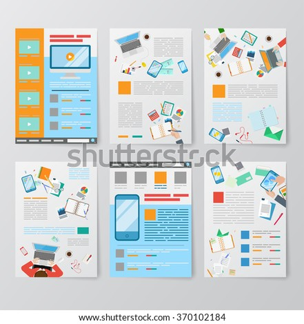 video abstract business mobile