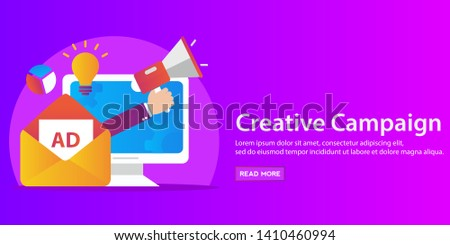 Video and creative marketing, financial market research
