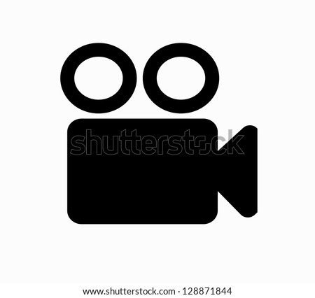 Video camera icon vector Сток-фото ©