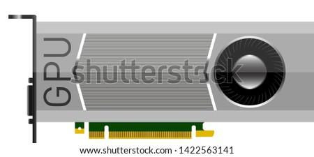 video card gpu vector