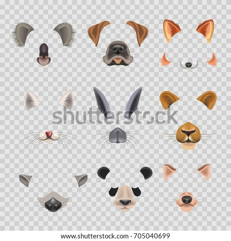 video chat effects animal faces